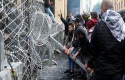 بالفيديو : هدوء بالعاصمة اللبنانية بعد اشتباكات عنيفة وجرح 160