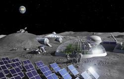 إنتاج الهواء من الغبار القمري كجزء من خطه للعيش على القمر