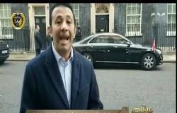 من مصر | شاهد لحظة خروج الرئيس السيسي من مقر الحكومة البريطانية
