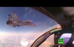 """""""ميغ-31"""" و """"سو-34"""" تتناوب على حماية سماء روسيا"""