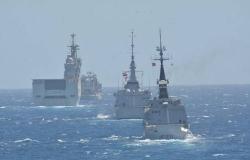 """بدء فعاليات التدريب البحري المشترك المصري السعودي""""مرجان - 16"""""""