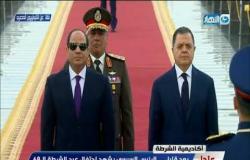 الرئيس السيسي يجتمع مع أعضاء المجلس الأعلى للشرطة ضمن مراسم الاحتفال بعيد الشرطة