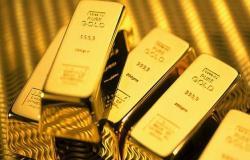 أسعار الذهب تتراجع عالمياً قبيل اجتماع المركزي الأوروبي