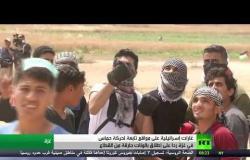 غارات تستهدف مواقع لحماس في غزة