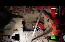 إنقاذ طفلة عمرها عامان قضت 24 ساعة تحت الأنقاض بعد زلزال تركيا