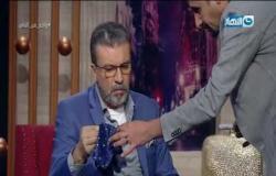 لاعب خفة اليد المحترف بسام يبهر عمرو الليثي بسبب الفلوس السحرية :)