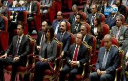 الرئيس السيسي يصل مقر انعقاد مؤتمر ايجيبس 2020