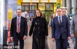 غادة والى تتسلم مهام منصبها في الأمم المتحدة فى فيينا