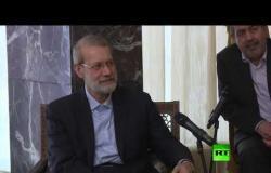 لاريجاني يلتقي الرئيس اللبناني ميشال عون في بيروت