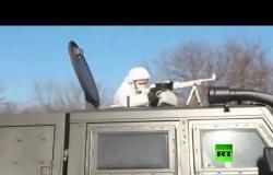 تدريبات قناصين في الجيش الروسي تحضيرا لمسابقة 2020