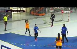 مباراة كرة اليد بين سموحة والشمس في بطولة الدوري لكرة اليد - سيدات