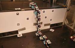 روبوت الأفعى يعبر التضاريس للمساعدة في الكوارث