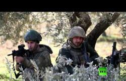 تعزيزات تركية تنتشر بريف إدلب على خط المواجهة مع القوات السورية