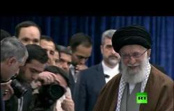 خامنئي يدلي بصوته في انتخابات مجلس الشورى الإيراني