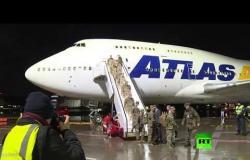 قوات أمريكية تصل إلى ألمانيا