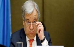 الأمين العام للأمم المتحدة يدعو إلى وقف إطلاق نار فوري في شمال غربي سوريا