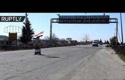فتح طريق دمشق-حلب أمام حركة السير والمرور