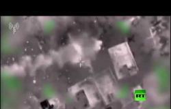 الجيش الإسرائيلي ينشر فيديو يوثق استهداف مواقع الجهاد الإسلامي