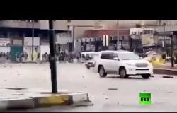 فيديو يوثق إطلاق الرصاص على متظاهرين في بغداد