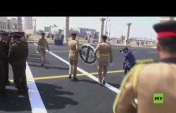 تحضيرات لتشييع جثمان الرئيس المصري الراحل حسني مبارك في جنازة عسكرية