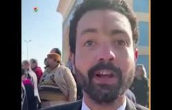 """مواطن ينتظر جنازة مبارك :""""جاي من اسكندرية مخصوص علشانه"""""""