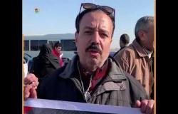 مواطن أمام مسجد المشير: أبويا مات النهاردة والحمدلله شاف براءة أولاده