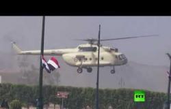 اخر استعدادات لتشييع جثمان الرئيس المصري الراحل حسني مبارك