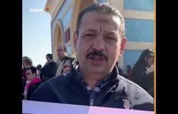 """بورسعيدي من أمام مسجد المشير :""""من الفجر عاوز أودع مبارك"""""""