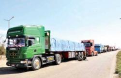 إعفاء البضائع السورية المصدرة إلى الخليج بشاحنات أردنية من رسوم الترانزيت