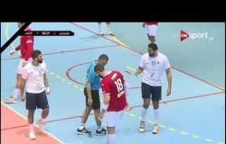 مباراة كرة اليد بين الأهلي وهليوبوليس في بطولة الدوري