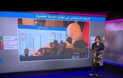 كورونا في مصر.. تكدس بمؤتمر لوزيرة الصحة رغم النصائح بالتباعد الاجتماعي