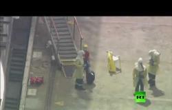 فيديو.. سفينة ألمانية في ميناء أسترالي قد يكون على متنها عشرات المصابين بكورونا