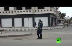 """بدء عمليات الإمداد الغذائي في سوريا عبر الطريق الرئيس """"M5"""""""