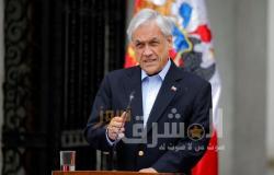 رئيس تشيلي يثير الجدل بزيارته لميدان احتجاج مفروض عليه الحجر