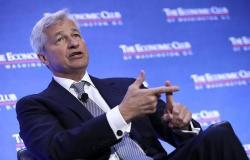"""رئيس """"جي.بي.مورجان"""": الاقتصاد سيشهد ركوداً وضغوط مالية مماثلة لأزمة 2008"""