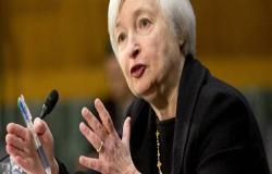 """""""جانيت يلين"""" تتوقع انكماش الاقتصاد الأمريكي 30% في الربع الثاني"""