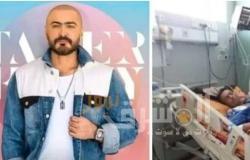 خالد عادل يبكي ويستغيث بتامر حسني لإنقاذه