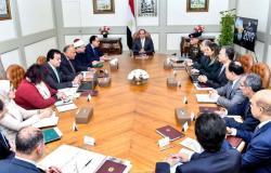 بعد اجتماعه مع رئيس الحكومة ومسؤولين... توجيه جديد من السيسي
