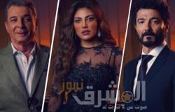 """الحلقة الـ8.. من مسلسل """"لما كنا صغيرين""""ريهام حجاج تشك في خالد النبوى بمقتل نيسرين أمين"""