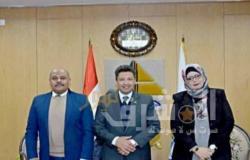 """""""رئيس جامعة دمياط"""" يهنئ شعب مصر بمناسبة ذكرى العاشر من رمضان"""