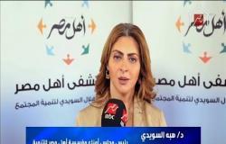 د. هبة السويدي تشكر برنامج اغلب السقا على التبرع لمستشفى أهل مصر