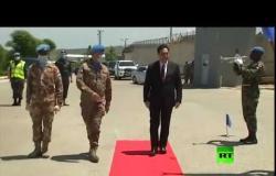 رئيس الحكومة اللبنانية يزور مقر اليونيفيل