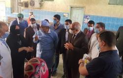 محافظ الجيزة يتفقد مستشفى أم المصريين للتأكد من توافر المستلزمات الطبية