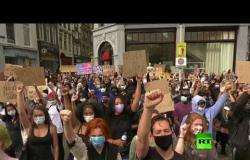 الآلاف يتظاهرون في أمستردام تضامنا مع جروج فلويد