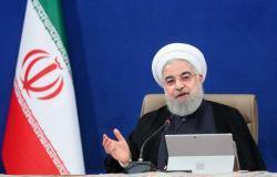 """""""روحاني"""" للإيرانيين: تعايشوا مع """"كورونا"""" لا يمكننا غلق الاقتصاد"""