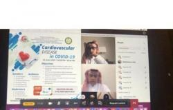 """مؤتمر افتراضي للحرس الوطني عن تأثير """"كورونا"""" على مرضى القلب"""