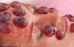 فوائد العنب لبشرة صحية