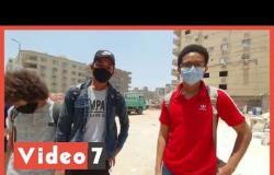 طلاب الثانوية العامة بمصر الجديدة عن مستوى امتحان الاستاتيكا: متوسط ويحتاج وقت