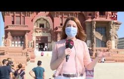 جولة #صباحك_مصري داخل قصر البارون بعد إعادة ترميمه وفتحه للجمهور
