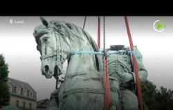 إزالة تمثال نابليون بونابرت